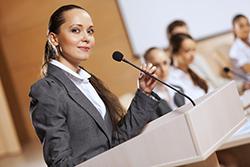 Positionierung über Vorträge